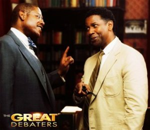 Forest Whitaker and Denzel Washington